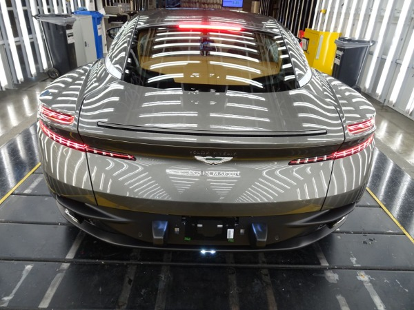 New 2021 Aston Martin DB11 V8 for sale $240,886 at Alfa Romeo of Westport in Westport CT 06880 3