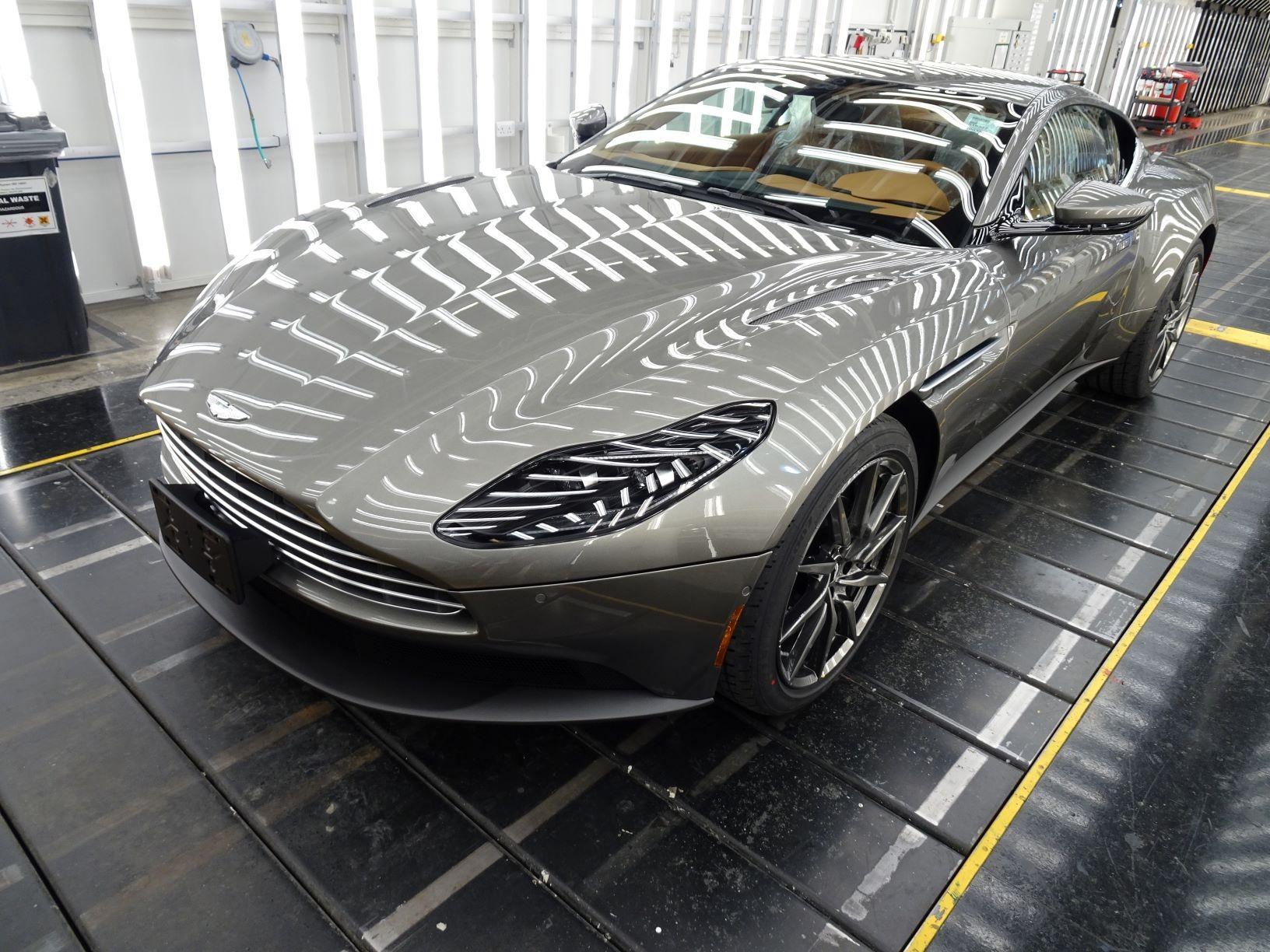 New 2021 Aston Martin DB11 V8 for sale $240,886 at Alfa Romeo of Westport in Westport CT 06880 1