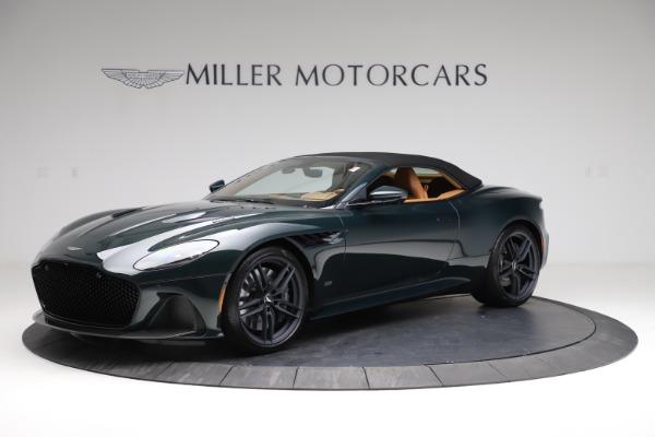 New 2021 Aston Martin DBS Superleggera Volante for sale $392,916 at Alfa Romeo of Westport in Westport CT 06880 13