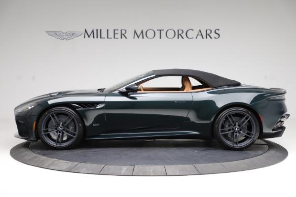 New 2021 Aston Martin DBS Superleggera Volante for sale $392,916 at Alfa Romeo of Westport in Westport CT 06880 14