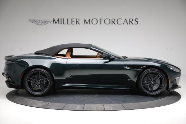 New 2021 Aston Martin DBS Superleggera Volante for sale $392,916 at Alfa Romeo of Westport in Westport CT 06880 15