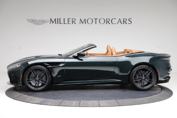 New 2021 Aston Martin DBS Superleggera Volante for sale $392,916 at Alfa Romeo of Westport in Westport CT 06880 2