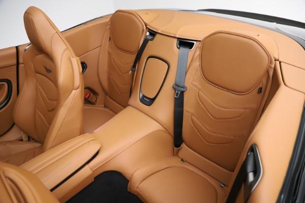 New 2021 Aston Martin DBS Superleggera Volante for sale $392,916 at Alfa Romeo of Westport in Westport CT 06880 21