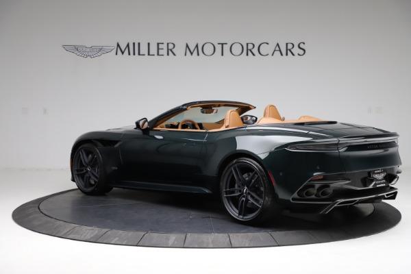 New 2021 Aston Martin DBS Superleggera Volante for sale $392,916 at Alfa Romeo of Westport in Westport CT 06880 3