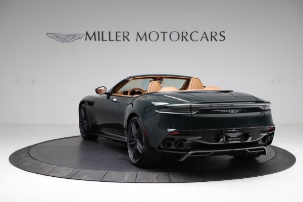 New 2021 Aston Martin DBS Superleggera Volante for sale $392,916 at Alfa Romeo of Westport in Westport CT 06880 4
