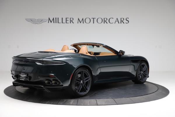 New 2021 Aston Martin DBS Superleggera Volante for sale $392,916 at Alfa Romeo of Westport in Westport CT 06880 7