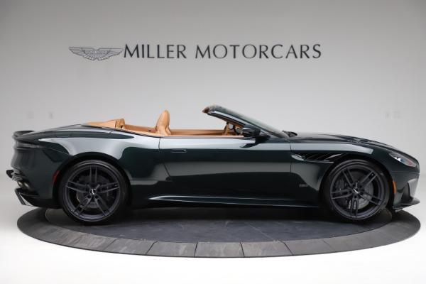 New 2021 Aston Martin DBS Superleggera Volante for sale $392,916 at Alfa Romeo of Westport in Westport CT 06880 8