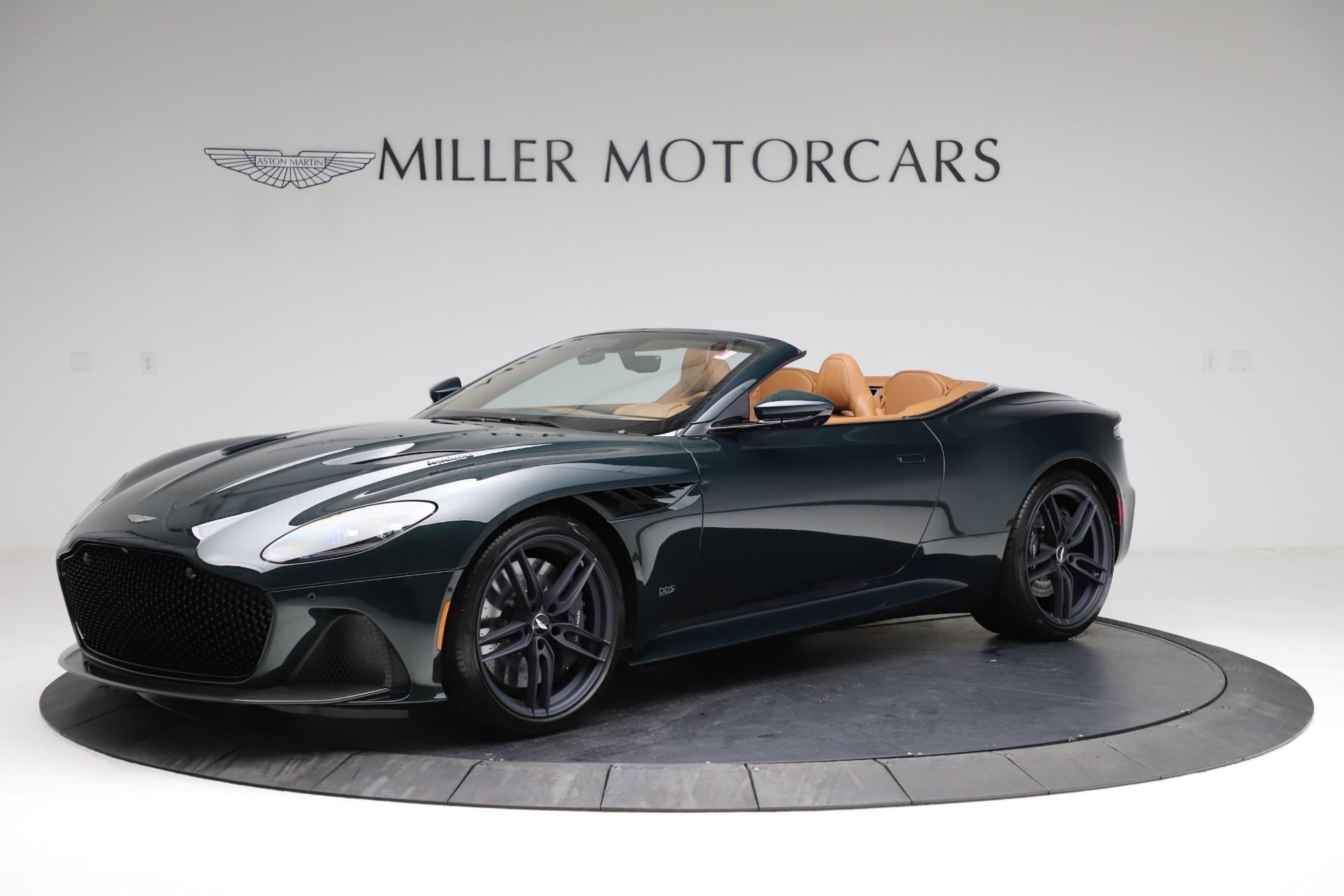New 2021 Aston Martin DBS Superleggera Volante for sale $392,916 at Alfa Romeo of Westport in Westport CT 06880 1
