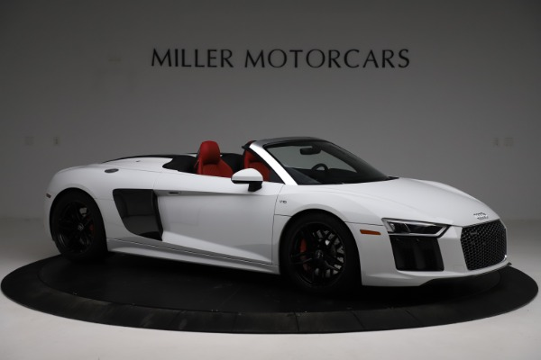 Used 2018 Audi R8 Spyder for sale $154,900 at Alfa Romeo of Westport in Westport CT 06880 10