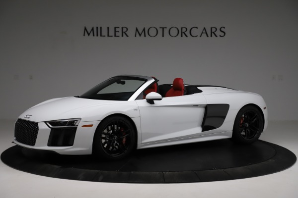 Used 2018 Audi R8 Spyder for sale $154,900 at Alfa Romeo of Westport in Westport CT 06880 2