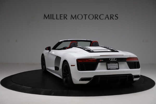 Used 2018 Audi R8 Spyder for sale $154,900 at Alfa Romeo of Westport in Westport CT 06880 5
