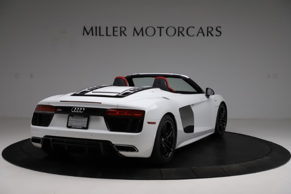 Used 2018 Audi R8 Spyder for sale $154,900 at Alfa Romeo of Westport in Westport CT 06880 7
