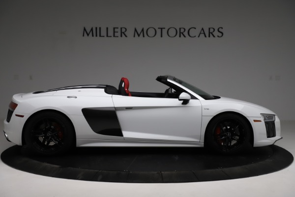 Used 2018 Audi R8 Spyder for sale $154,900 at Alfa Romeo of Westport in Westport CT 06880 9