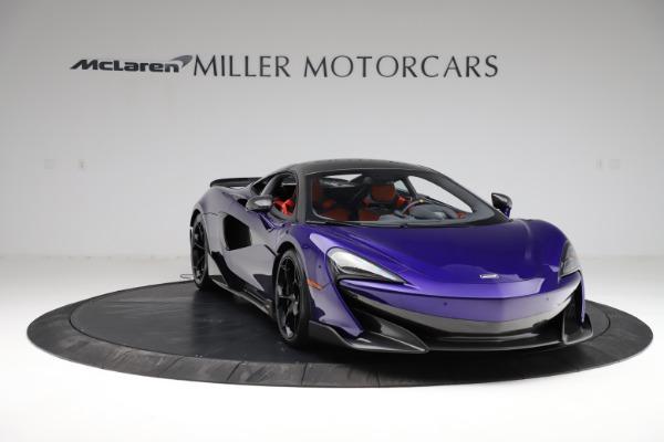 Used 2019 McLaren 600LT for sale $234,900 at Alfa Romeo of Westport in Westport CT 06880 10