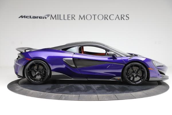 Used 2019 McLaren 600LT for sale $234,900 at Alfa Romeo of Westport in Westport CT 06880 8