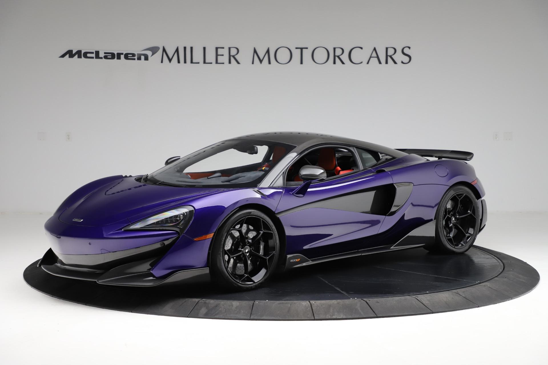 Used 2019 McLaren 600LT for sale $234,900 at Alfa Romeo of Westport in Westport CT 06880 1