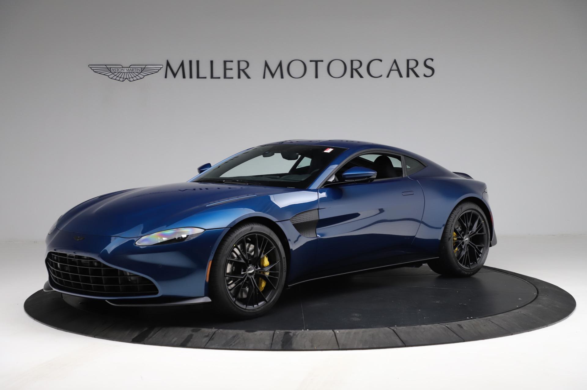 New 2021 Aston Martin Vantage Coupe for sale $179,386 at Alfa Romeo of Westport in Westport CT 06880 1