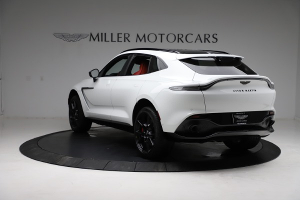 New 2021 Aston Martin DBX for sale $210,386 at Alfa Romeo of Westport in Westport CT 06880 4
