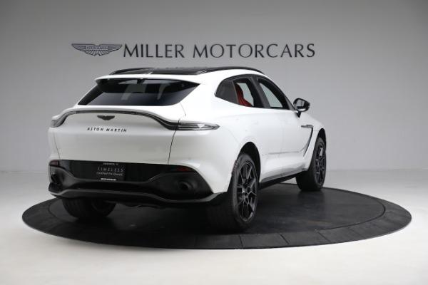 New 2021 Aston Martin DBX for sale $210,386 at Alfa Romeo of Westport in Westport CT 06880 6