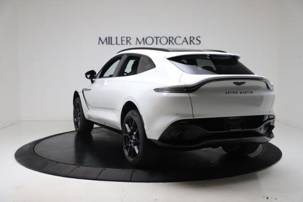 New 2021 Aston Martin DBX for sale $206,286 at Alfa Romeo of Westport in Westport CT 06880 4