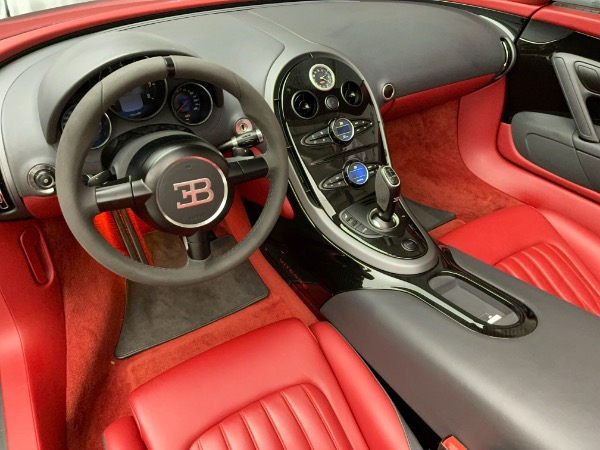 Used 2013 Bugatti Veyron 16.4 Grand Sport Vitesse for sale Call for price at Alfa Romeo of Westport in Westport CT 06880 20