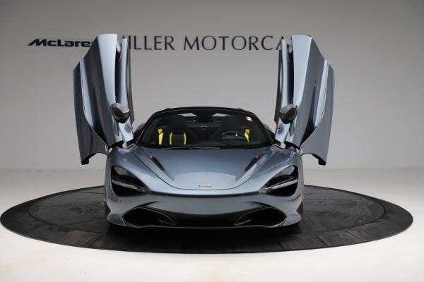 New 2021 McLaren 720S Spider for sale $351,450 at Alfa Romeo of Westport in Westport CT 06880 12