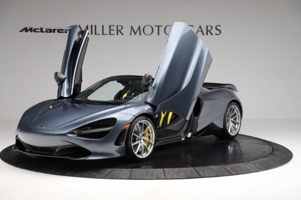 New 2021 McLaren 720S Spider for sale $351,450 at Alfa Romeo of Westport in Westport CT 06880 13