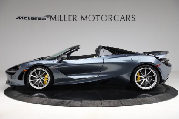 New 2021 McLaren 720S Spider for sale $351,450 at Alfa Romeo of Westport in Westport CT 06880 2