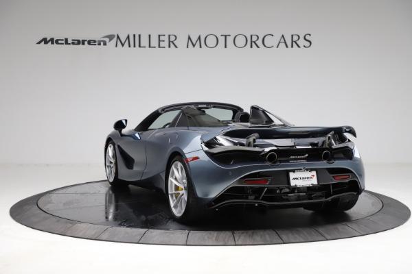 New 2021 McLaren 720S Spider for sale $351,450 at Alfa Romeo of Westport in Westport CT 06880 4