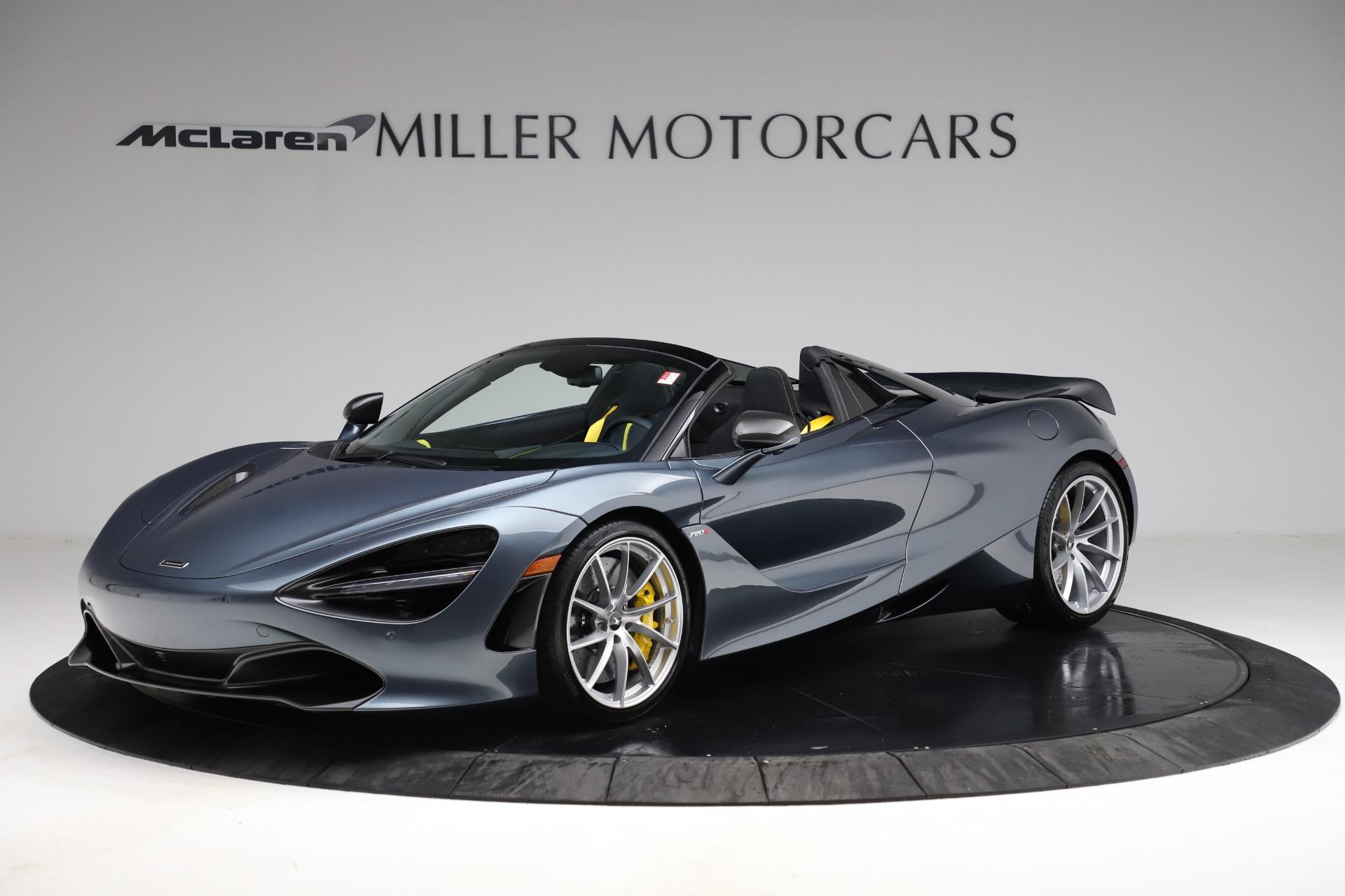 New 2021 McLaren 720S Spider for sale $351,450 at Alfa Romeo of Westport in Westport CT 06880 1