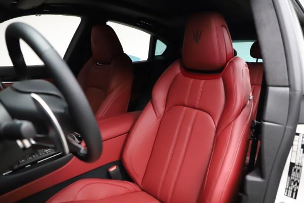 New 2021 Maserati Levante Q4 GranSport for sale $95,835 at Alfa Romeo of Westport in Westport CT 06880 16