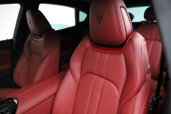 New 2021 Maserati Levante Q4 GranSport for sale $95,835 at Alfa Romeo of Westport in Westport CT 06880 17