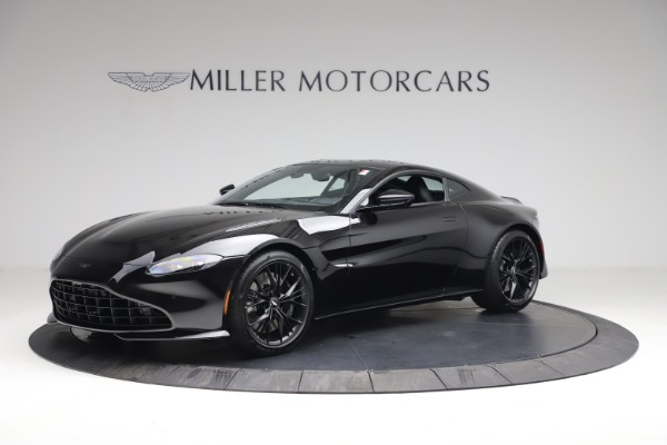 New 2021 Aston Martin Vantage for sale $178,986 at Alfa Romeo of Westport in Westport CT 06880 1