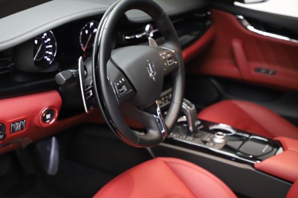 New 2021 Maserati Quattroporte S Q4 GranLusso for sale $122,435 at Alfa Romeo of Westport in Westport CT 06880 13