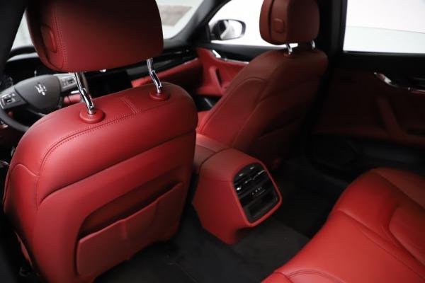 New 2021 Maserati Quattroporte S Q4 GranLusso for sale $122,435 at Alfa Romeo of Westport in Westport CT 06880 18