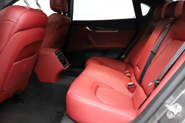 New 2021 Maserati Quattroporte S Q4 GranLusso for sale $122,435 at Alfa Romeo of Westport in Westport CT 06880 20