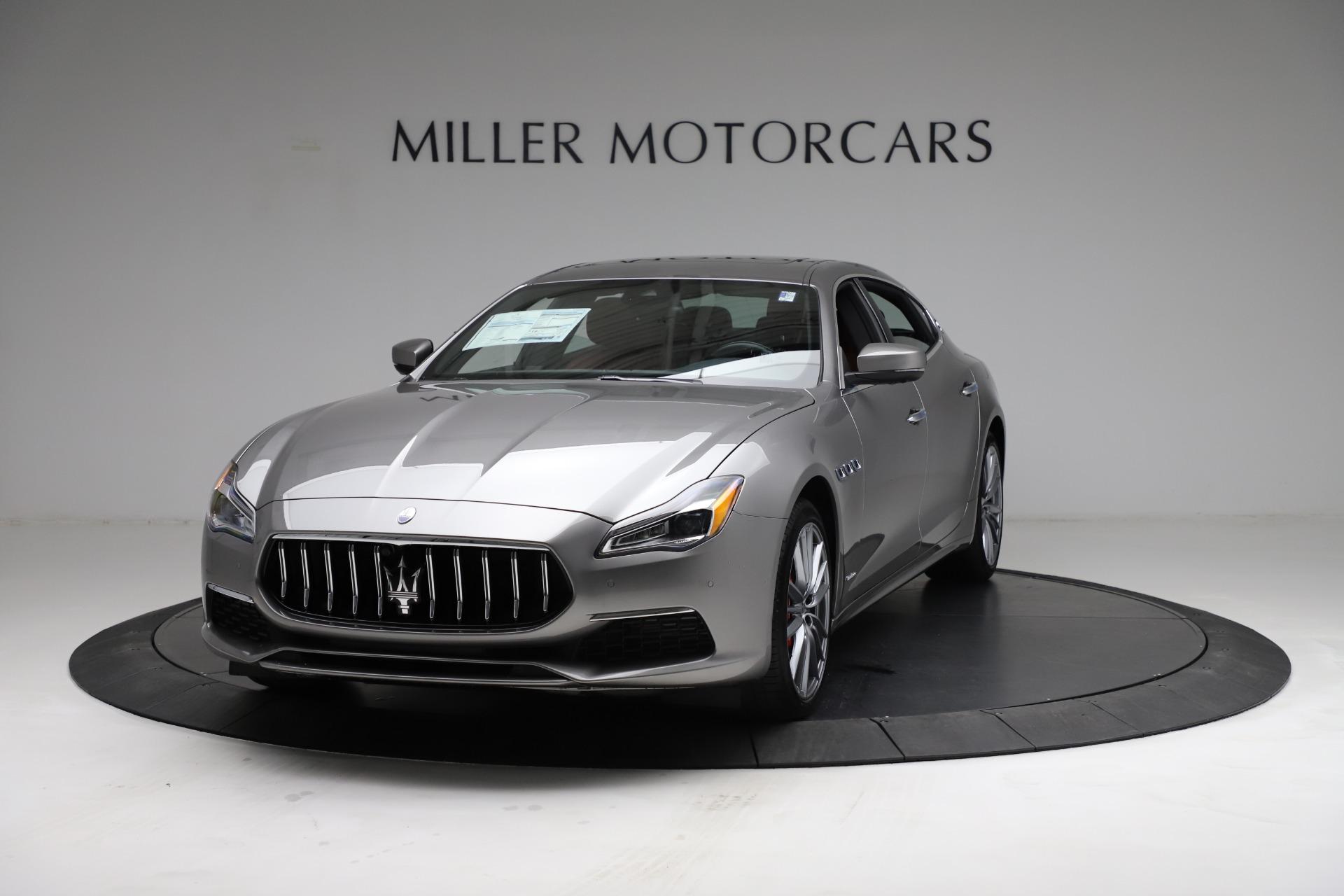 New 2021 Maserati Quattroporte S Q4 GranLusso for sale $122,435 at Alfa Romeo of Westport in Westport CT 06880 1