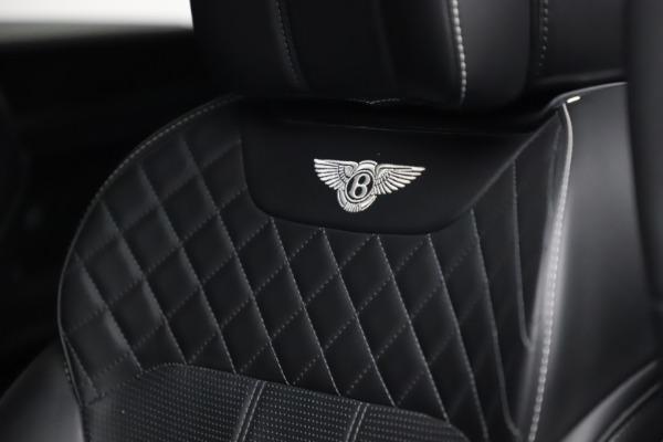 Used 2018 Bentley Bentayga W12 Signature for sale $153,900 at Alfa Romeo of Westport in Westport CT 06880 21