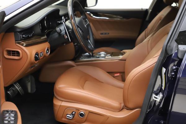 New 2021 Maserati Quattroporte S Q4 GranLusso for sale $123,549 at Alfa Romeo of Westport in Westport CT 06880 13