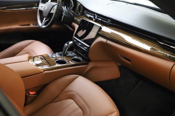 New 2021 Maserati Quattroporte S Q4 GranLusso for sale $123,549 at Alfa Romeo of Westport in Westport CT 06880 20