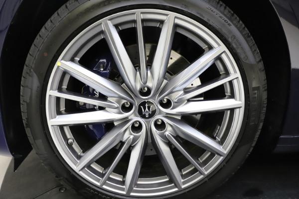 New 2021 Maserati Quattroporte S Q4 GranLusso for sale $123,549 at Alfa Romeo of Westport in Westport CT 06880 24