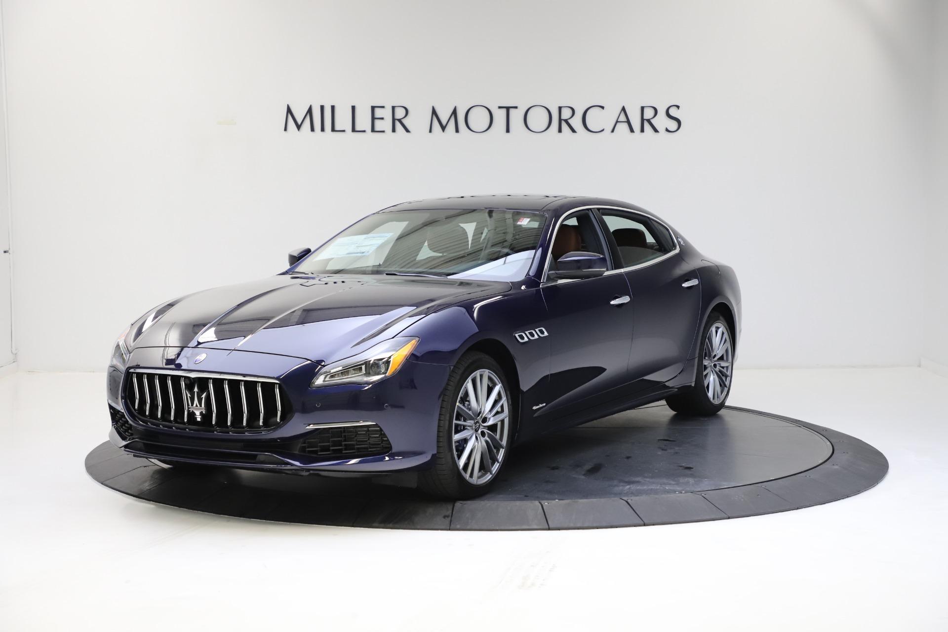 New 2021 Maserati Quattroporte S Q4 GranLusso for sale $123,549 at Alfa Romeo of Westport in Westport CT 06880 1