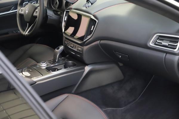 New 2021 Maserati Ghibli S Q4 for sale $86,654 at Alfa Romeo of Westport in Westport CT 06880 20