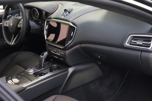 New 2021 Maserati Ghibli S Q4 for sale $86,654 at Alfa Romeo of Westport in Westport CT 06880 21