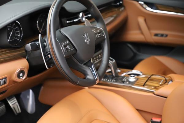 New 2021 Maserati Quattroporte S Q4 for sale $114,149 at Alfa Romeo of Westport in Westport CT 06880 13