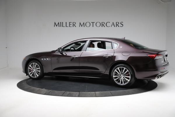 New 2021 Maserati Quattroporte S Q4 for sale $114,149 at Alfa Romeo of Westport in Westport CT 06880 3