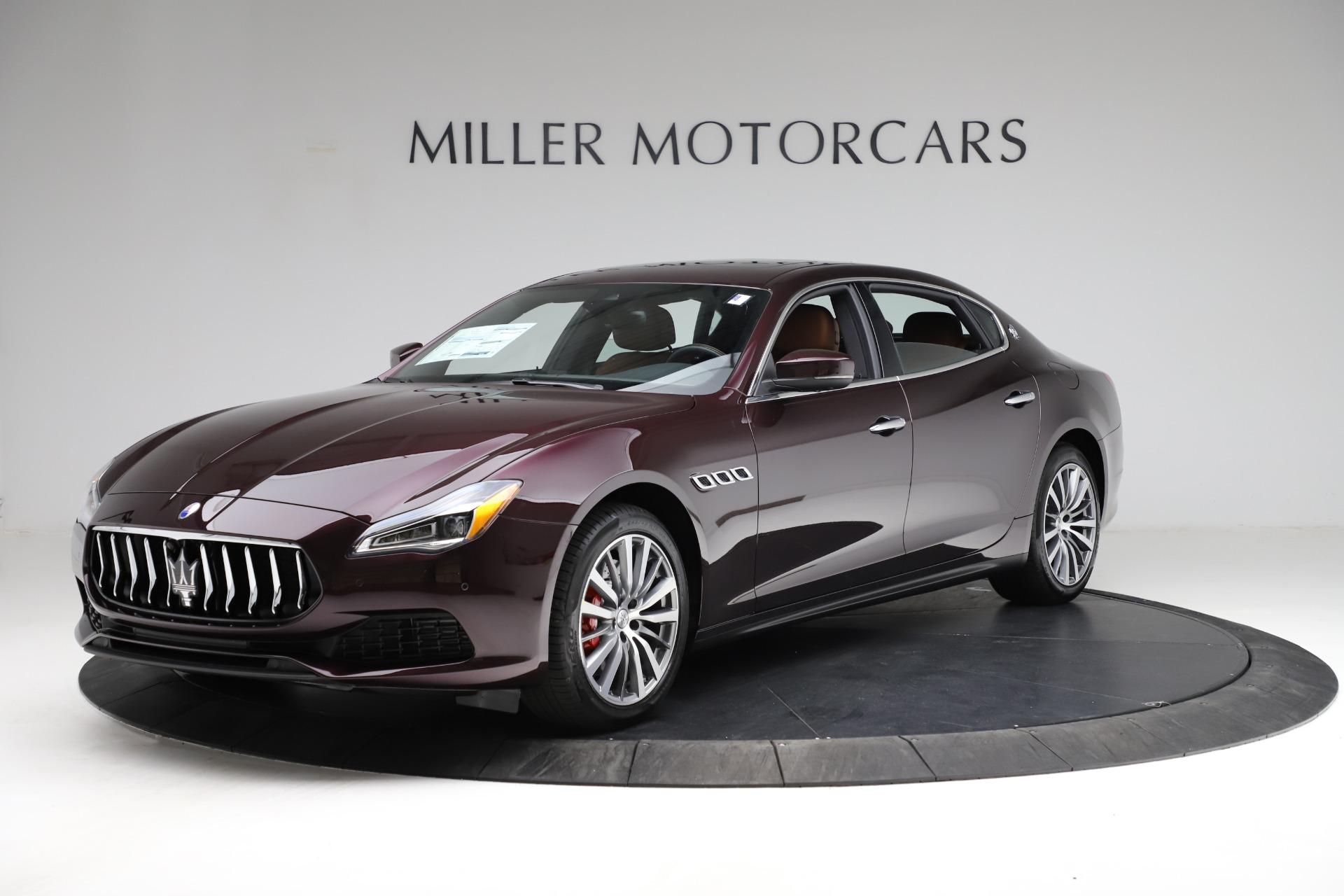 New 2021 Maserati Quattroporte S Q4 for sale $114,149 at Alfa Romeo of Westport in Westport CT 06880 1