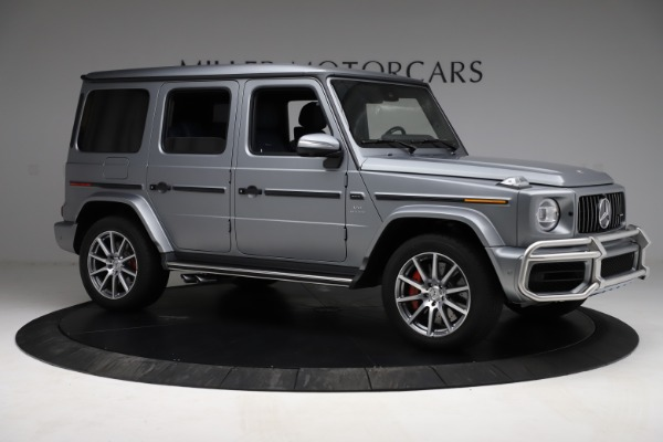 Used 2021 Mercedes-Benz G-Class AMG G 63 for sale $219,900 at Alfa Romeo of Westport in Westport CT 06880 10
