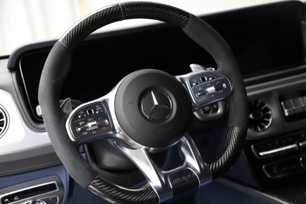 Used 2021 Mercedes-Benz G-Class AMG G 63 for sale $219,900 at Alfa Romeo of Westport in Westport CT 06880 18