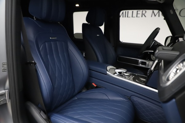 Used 2021 Mercedes-Benz G-Class AMG G 63 for sale $219,900 at Alfa Romeo of Westport in Westport CT 06880 23